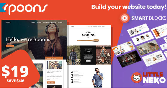 Spoons | Multipurpose WordPress Theme