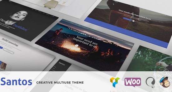Santos – Modern Multi-Purpose Theme