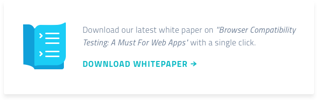 Whitepaper: Browser Compatibility Testing