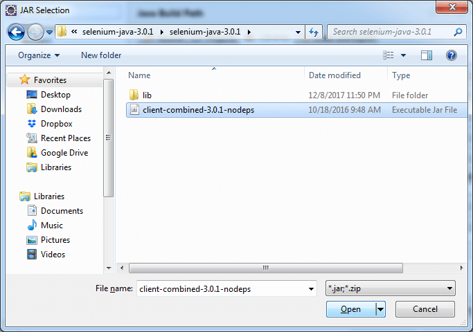 import dependency files