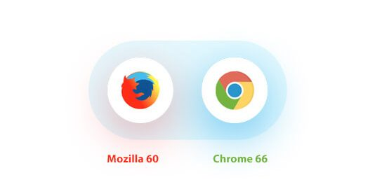 Chrome 66 Beta and Firefox 60 Beta
