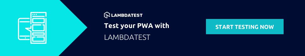 Test PWA