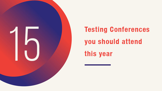 Testing conferences you must attend