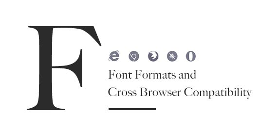 Typography and cross browser compatibility