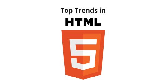 Top trends in HTML5