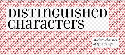 Distinguishable Typography