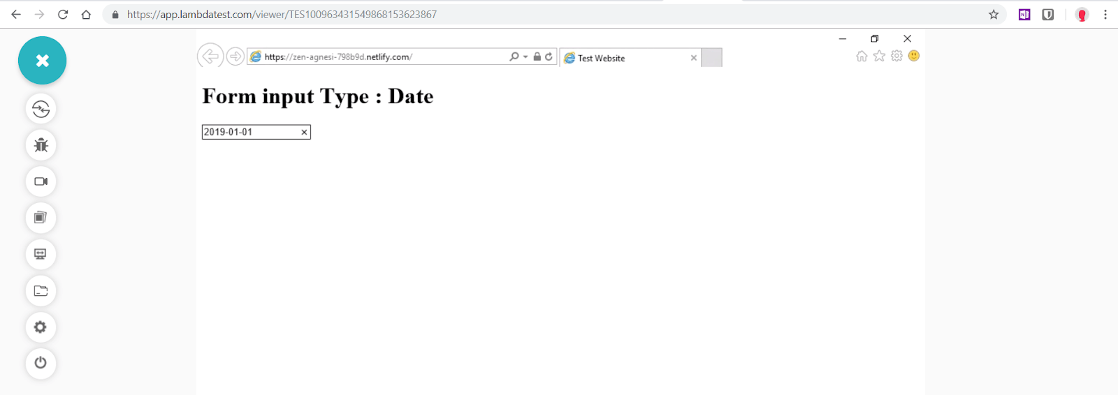 """Date"" is not supported in Internet Explorer 11"