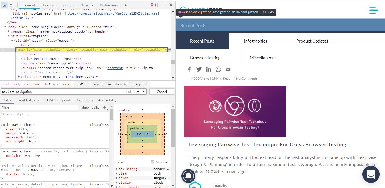 CSS Selectors In Selenium | Using CSS Selectors In Selenium