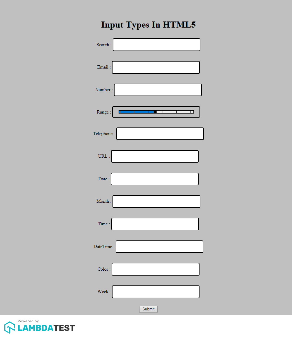 HTML5 Input Fields In Internet Explorer 11