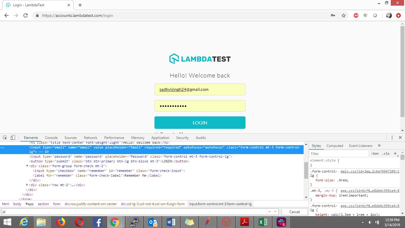 Locators In Selenium WebDriver With Examples | LambdaTest