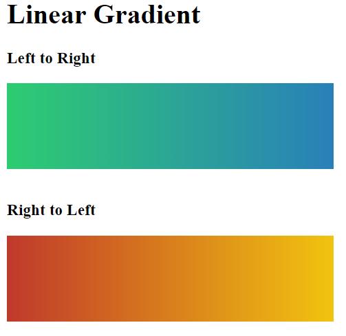 linear gradient 2