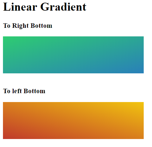 linear gradient 3
