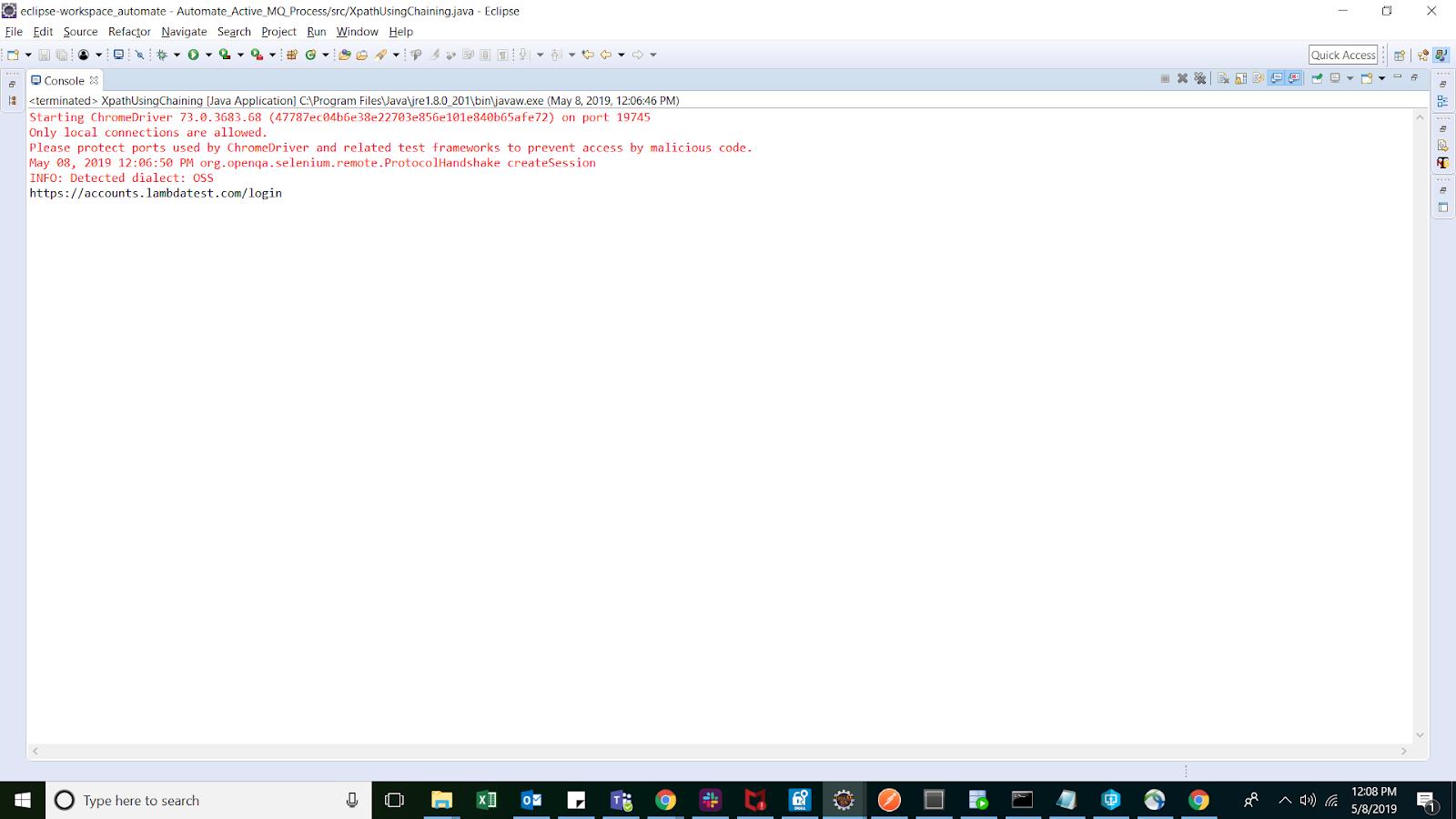 XPath example in Selenium