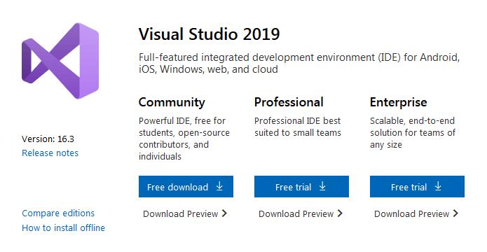 Set Up Visual Studio