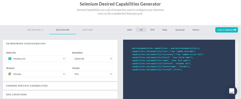 capability generater