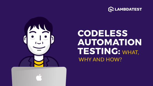 Codeless Automation Testing