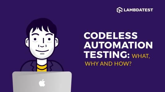 Codeless Automation Testing