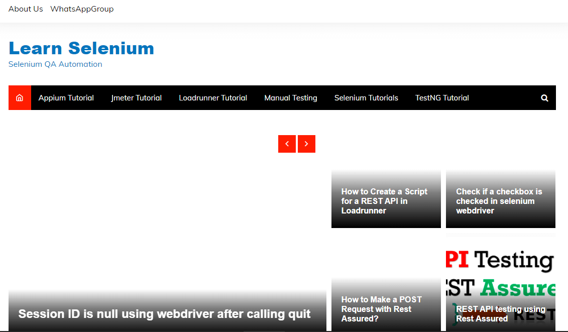 Easy Selenium