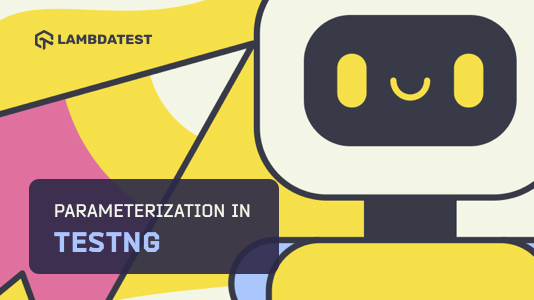 Parameterization in TestNG