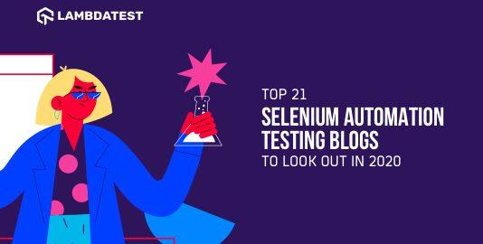 Selenium Automation Testing Blogs