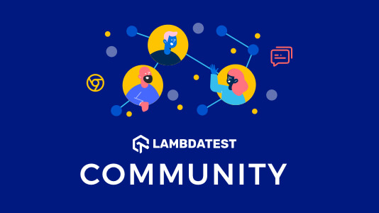 Lambdatest-community-For Developers-Testers