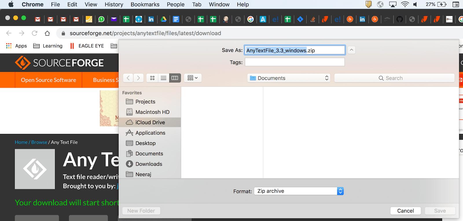 Salesforce screenshot testing