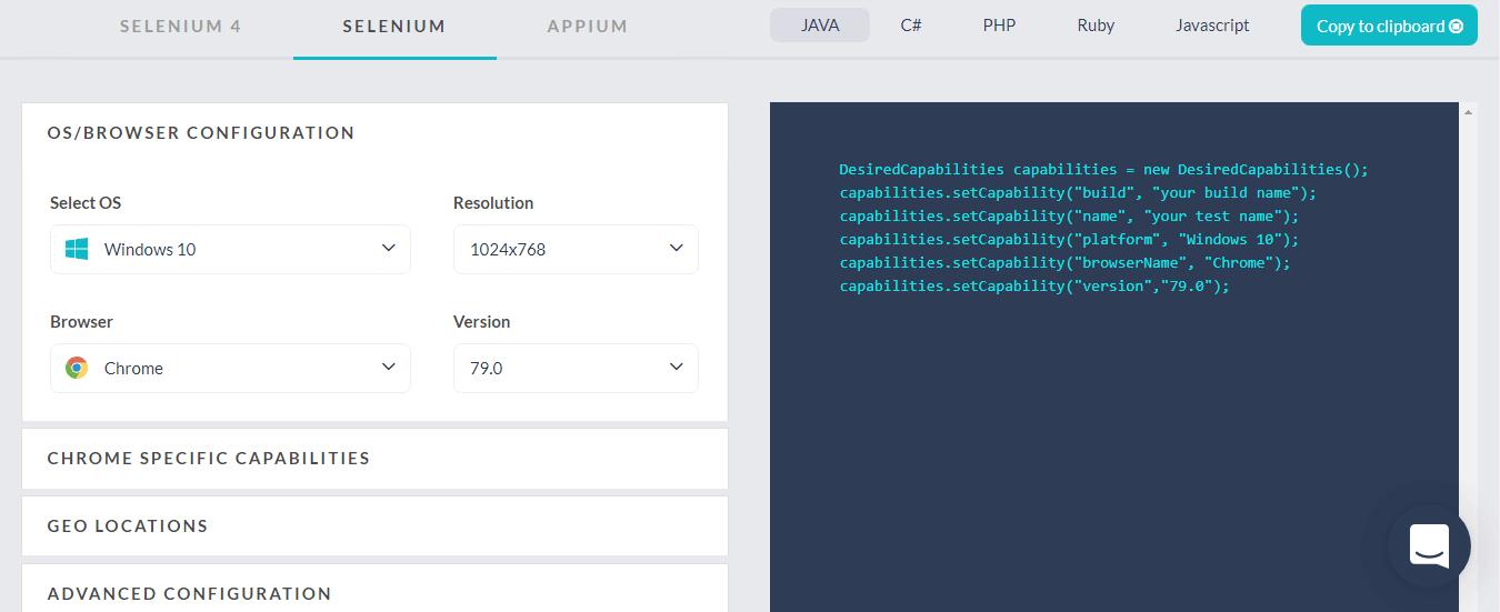 selenium_desired_capability_generator