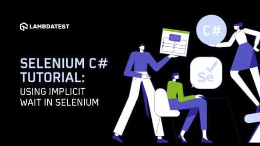 Implicit Wait in csharp Selenium