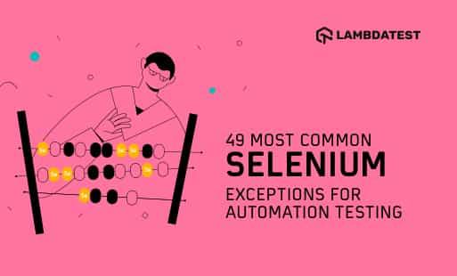 Selenium-Exceptions