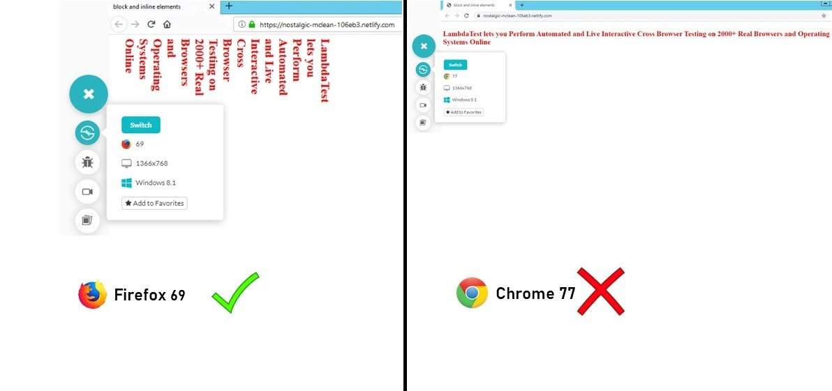 differnce-in-browsers
