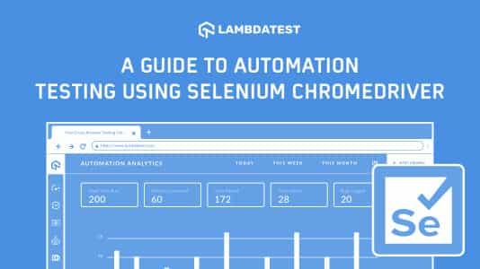 Automation Testing Using Selenium ChromeDriver