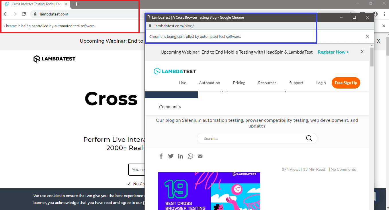 Cross Browser Testing Tool