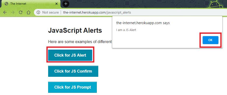 JS-alert