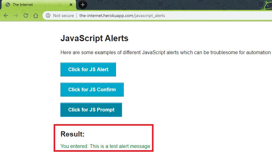 javascript-alert