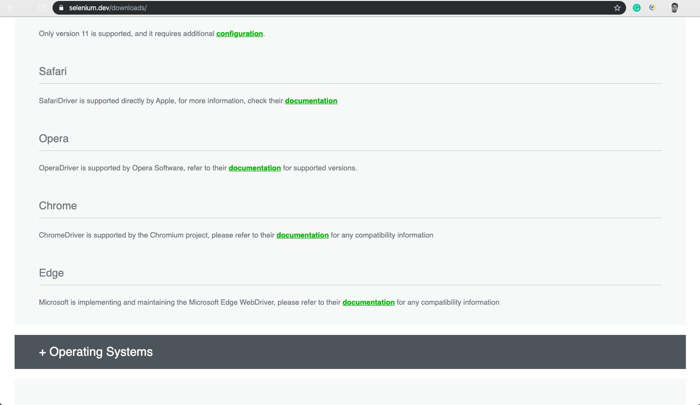 Downloading ChromeDriver in Selenium