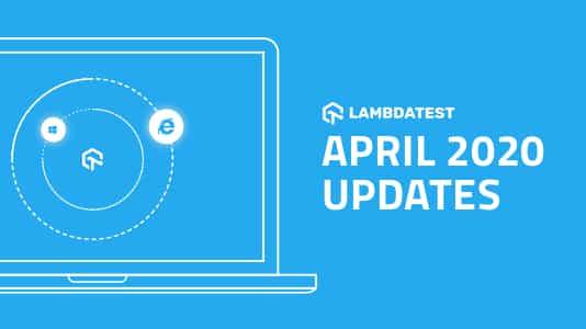 April 2020 Platform Updates