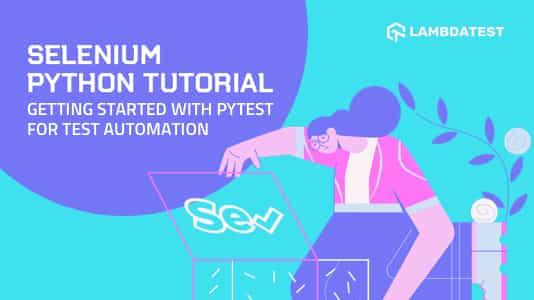 Selenium Python Tutorial
