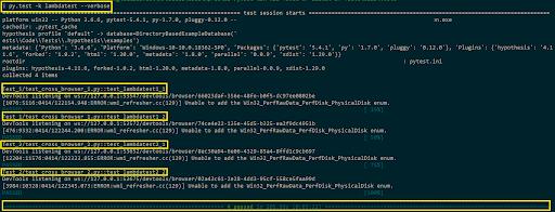 pytest-automation-script
