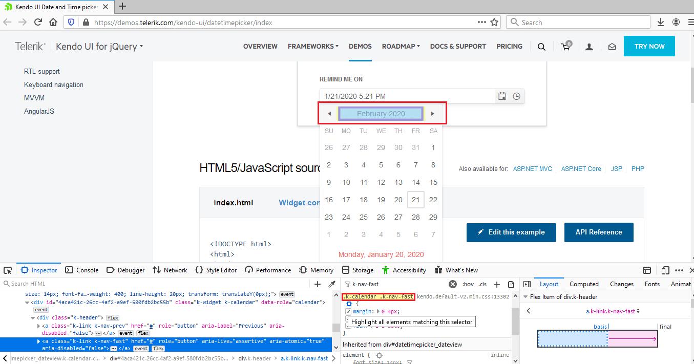 Automate Calendar In Selenium WebDriver