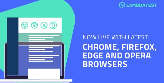 Compatibility testing On New Browsers