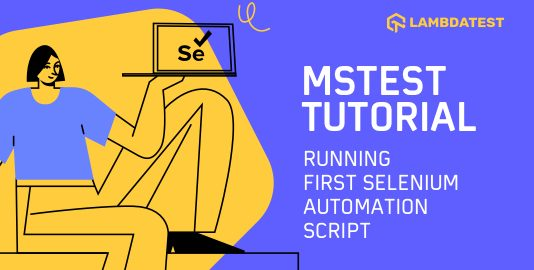 MSTest Tutorial
