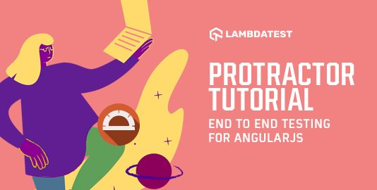 Protractor Tutorial