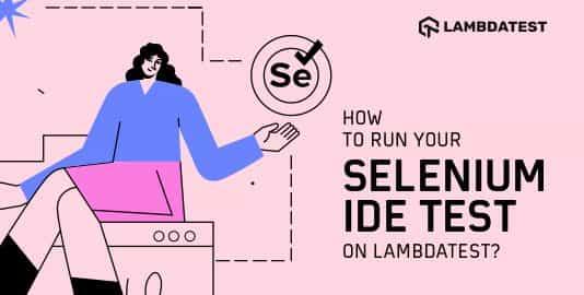 Selenium IDE Test