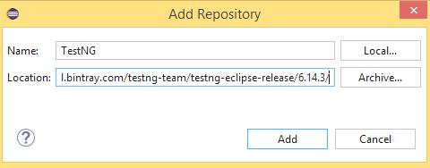 TestNG with WebDriver