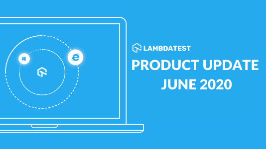 Product Update June 2020