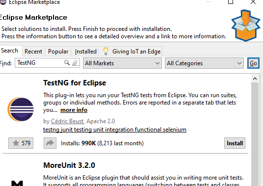 TestNG for Eclipse