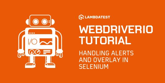WebDriverIO Tutorial