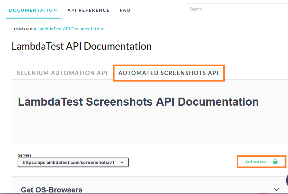 LambdaTest Automated