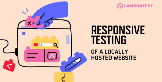 Responsive Testing On A Locally Hosted Website