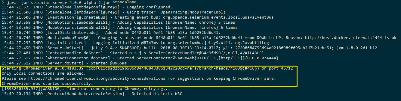 Chrome WebDriver